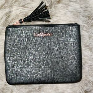 New Le Mystère Black Color Pouch with Tassel